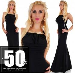 Sexy Maxi Dress Black