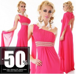 Sexy Maxi Dress Pink