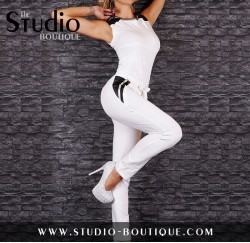 Overall Jumpsuit White