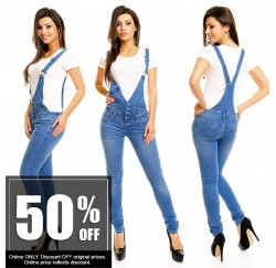 Jean Overall  Jumpsuit