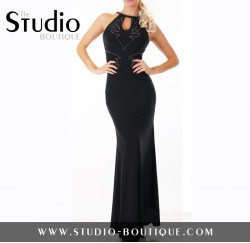 Sexy Glamour Evening Dress Black