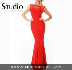 Sexy Glamour Evening Dress Red
