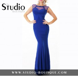Sexy Glamour Evening Dress Blue
